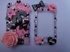 Barbie phone case.