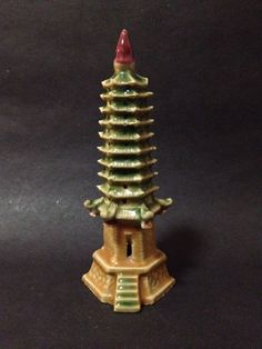 Estate Find - Japanese Temple Ceramic Figure Japanese Temple, Ceramic Figures, Vintage Ceramic, My Ebay, Ceramics, Home Decor, Ceramica, Pottery, Decoration Home