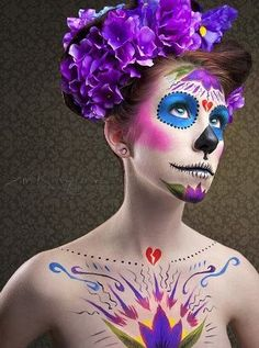 day of the dead costume idea.
