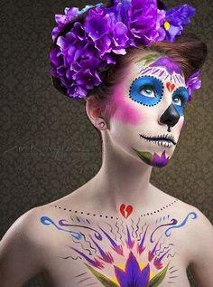 day of the dead costume idea.