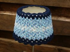 crochet in blue that lightens you day.