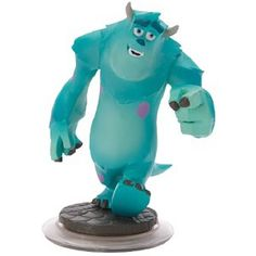 Disney Infinity Figure: Sulley (Wave 1, Monsters University Play Set, Included in Starter Pack)