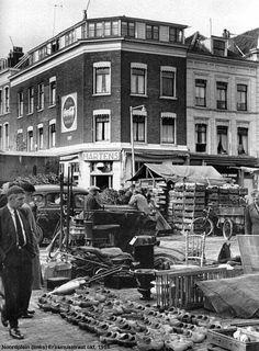 Noordplein met links Erasmusstraat oktober 1959 .