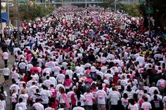 Hundreds of people participate in the #Race for the #Cure each year! Online registration is up now! #pink #komen