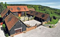 On the property market: Top ten barn conversions - Telegraph Property sleuth Graham Norwood goes digging around the countryside and villages, to unearth the best of the barn conversions Future House, My House, Converted Barn, Best Barns, Stone Barns, Modern Barn, Modern Farmhouse, Barn Conversions, Barn Conversion Exterior