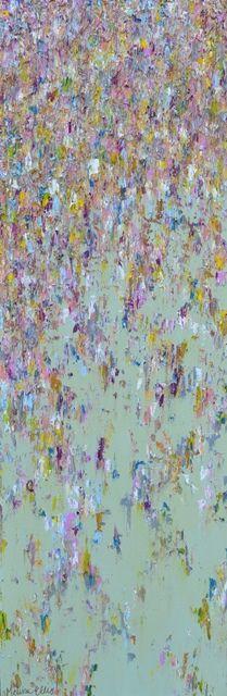 """Dwell"" 12 x 36"" Oil on canvas Melissa Ellis www.ellisartgallery.com"