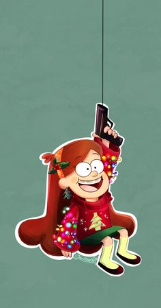 CHRISTMAS GRAPPLING HOOK! by CherryVioletS on deviantART