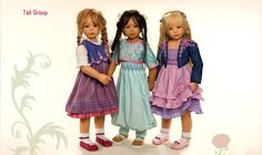 gorgeous hand-crafted dolls