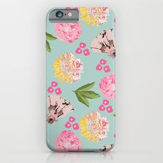 spring garden iPhone & iPod Case
