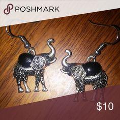 Elephant earrings in gift box Elephant Earrings Jewelry Earrings