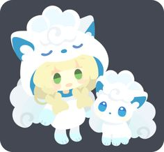 :d alolan form alolan vulpix alternate costume bangs blonde hair braid chibi costume eyebrows eyebrows visible through hair full body gen 1 pokemon green eyes lillie (pokemon) long hair open mouth pokemon pokemon (anime) pokemon (creature) pokemon sm Gen 1 Pokemon, Pokemon Moon, Pokemon Ships, Pokemon Memes, Green Pokemon, Ghost Pokemon, Alolan Vulpix, Video Game Anime, Cute Games