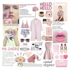 """""""Hello Hello"""" by lolapastel ❤ liked on Polyvore featuring Diane James, Fuji, Illesteva, ANS, Simone Perele, Royce Leather, Old Navy, Morgan, Zimmermann and Paul Smith"""