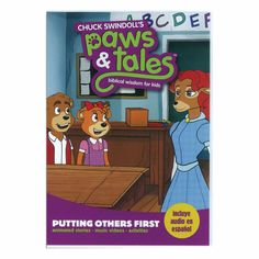 Paws & Tales: Biblical Wisdom for Kids: Putting Others First