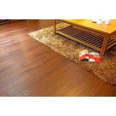 bamboo flooring | handscraped strand woven bamboo | black straw