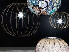 BUBBLE GOLD Lampada da terra by Missoni Home