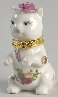 Royal Albert Old Country Roses Cat