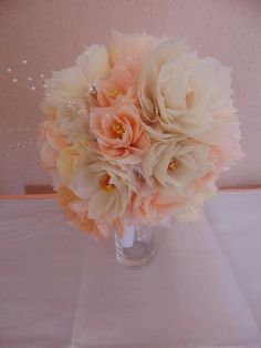Handcrafted Paper Flower Wedding Bridal Bouquet Available Online To Buy From Petals & Posies For A Great Deal On Handcrafted Paper Flower Wedding Bridal Bouquet Or Any Other Unique Handmade Craft Gifts And Creative Gift Ideas Visit Stallandcraftcollective.co.uk #6864
