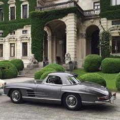 Mercedes-Benz 300 SL Roadster W198 II 57' - Gorgeous! #Mercedes #Vintage #Art #Beauty #Performance #Cars #CarShowSafari