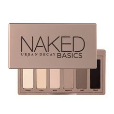 this is the eyeshadow palette i use every day. the colours are very subtle, which i like. it's also much less expensive than a full-size naked palette.
