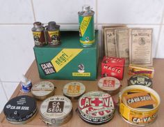 Schoonmaakproducten: Ca-Va Seul- 1e & 2e helft 20e eeuw