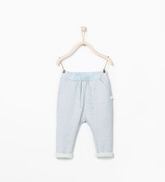Image 1 of Waistband trousers with pockets from Zara