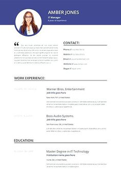 34 Best Online Resume Builder Images In 2019 Online Resume