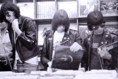 record shopping with the ramones