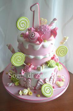 https://flic.kr/p/xv6Bbx | pink candy cake