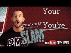 Heh, to help with your grammar ▶ CM Punk's Grammar Slam - Your vs. You're - YouTube