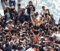 Eva Herzigova, Cannes, 1996