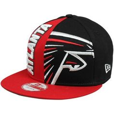 New Era Atlanta Falcons Nice Cap 9FIFTY Adjustable Snapback Hat