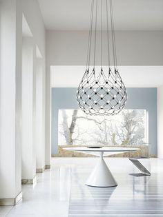 Ceiling Light Design, Led Ceiling, Simple Style, Decoration, Designer, Chandelier, Mesh, Lighting, Interior