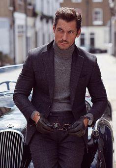 David Gandy Stars in Vanity Fair UK September 2016 Cover Story David Gandy Style, David James Gandy, David Gandy Suit, Gentleman Mode, Gentleman Style, Smart Casual, Men Casual, British Style Men, Well Dressed Men