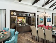 Arthur Rutenberg Homes Dining Room in the Modena model at The Concession. #theconcessionrealestate #arthurrutenberghomes