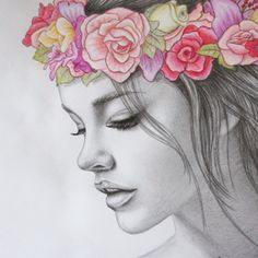 #flowers #drowing #art