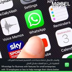 #WhatsApp for #Business with features for small enterprises with 10 employees or less to help manage their clients better | #MOBEL . . تقوم شركة فيسبوك بإختبار خدمة جديدة للواتساب تستهدف الشركات الصغيرة و مساعدتهم في خدمة العملاء بشكل افضل . . _______________ . #Android #iOS #Apple #Samsung #APK  #App #Bahrain #Programming #mobelmedia #developer . . For More Apps & Info Follow Us: #Instagram & #Twitter @mobelmedia . Web: mobelmedia.com