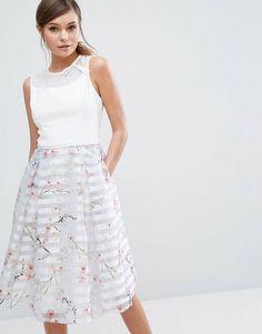 1bf048a39 Ted Baker Monah Blossom Contrast Dress at asos.com