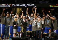 The Golden State Warriors are your 2015 NBA Champions!