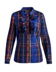 EVELYN Womens Frill Front Shirt - Joules
