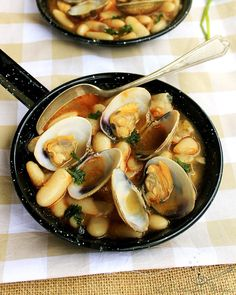 #Fabes con #almejas #gastronomia