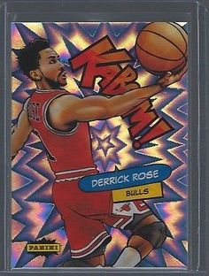 Other Sports Trading Cards 217: Derrick Rose 2015 16 Panini Excalibur Kaboom #11 Bulls 1 Per Case Sp Ssp -> BUY IT NOW ONLY: $34.99 on eBay!