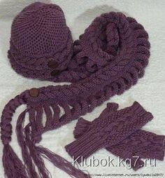 Bufandas tejidas Terrific y sombreros con Osinki | Maraña