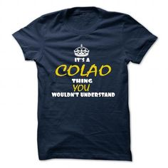 cool COLAO Name Tshirt - TEAM COLAO, LIFETIME MEMBER Check more at http://onlineshopforshirts.com/colao-name-tshirt-team-colao-lifetime-member.html