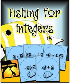 "Integer Operations game- played like ""Go Fish"""