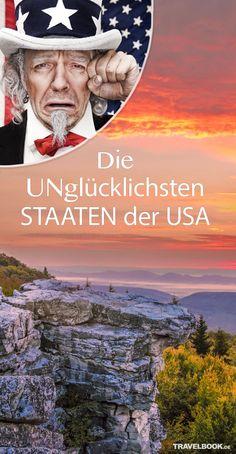 Die unglücklichsten Staaten der USA http://www.travelbook.de/welt/Wo-die-ungluecklichsten-US-Amerikaner-wohnen-610842.html