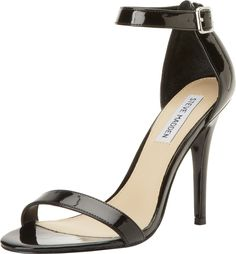 Steve Madden Women's Realove Pump,Black Patent,10 M US. Made in China. Man Made Upper. Man Made Sole. Heel Height: 4 - 4.75 Inch. This Shoe Fits True To Size.