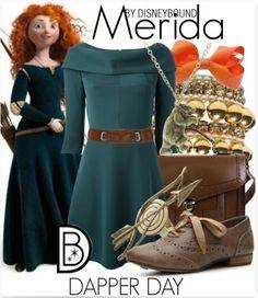 Merida. Brave. DisneyBound.