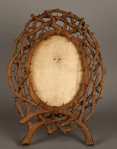 xx..tracy porter..poetic wanderlust..-Carved Wood Picture Frame ca. 1890