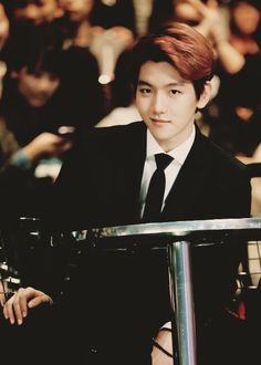 "Exo - Baekhyun ""That smirk *^*"" Got7, Hapkido, Baekyeol, Chanbaek, 2ne1, Laura Lee, Kdrama, Chanyeol Baekhyun, Exo Kai"