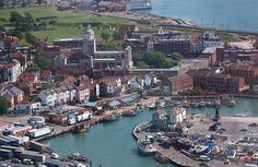 #Portsmouth, una ciudad británica muy unida al mar